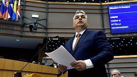 El Parlamento Europeo amenaza a Hungría