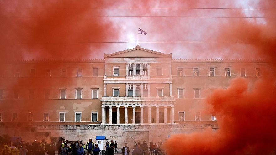 Zweiter Streiktag: Krawalle in Athen