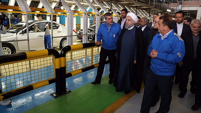 Iran's post-sanction economy doing well one year after nuclear deal