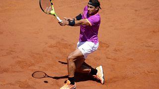 Nadal Roma'da 8. zaferine koşuyor