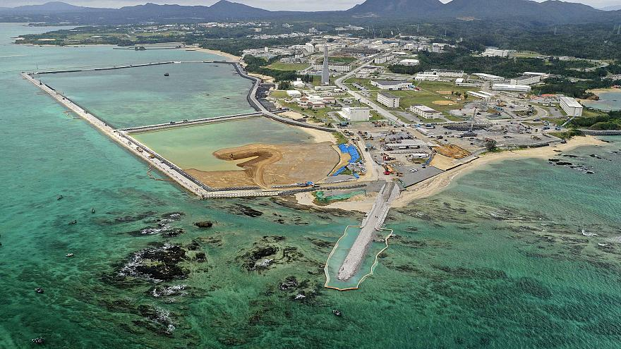 Land reclamation work is already underway on the relocation site for U.S. M