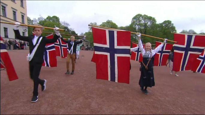 احتفالات بالعيد الوطني في النرويج