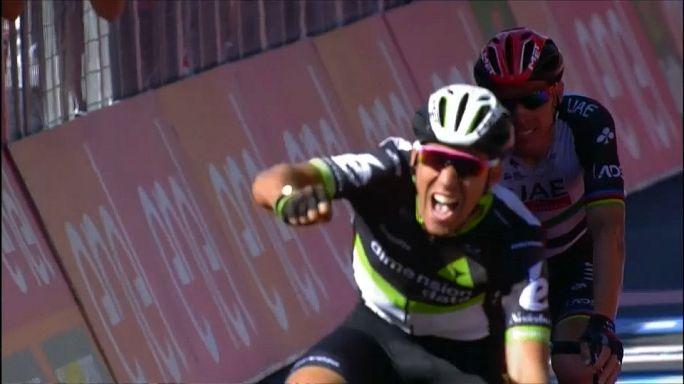Giro de Itália: Rui Costa terminou 11ª etapa em segundo