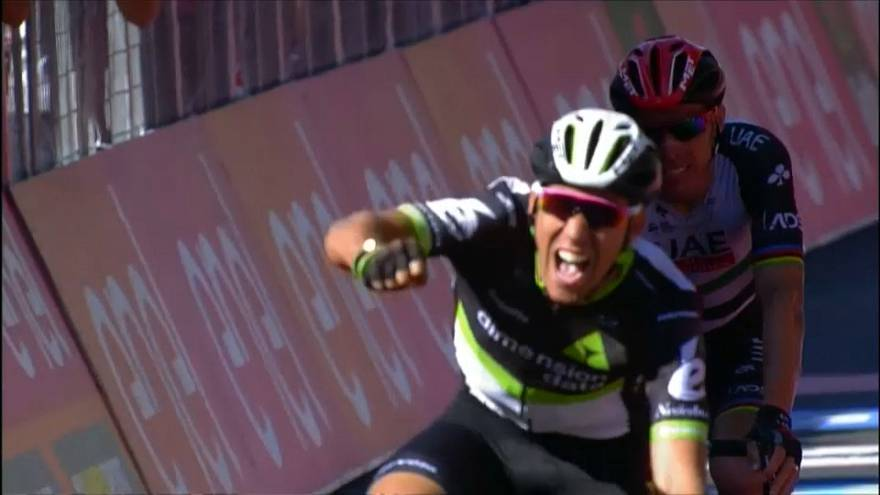 Giro: Omar Fraile siegt auf elfter Etappe