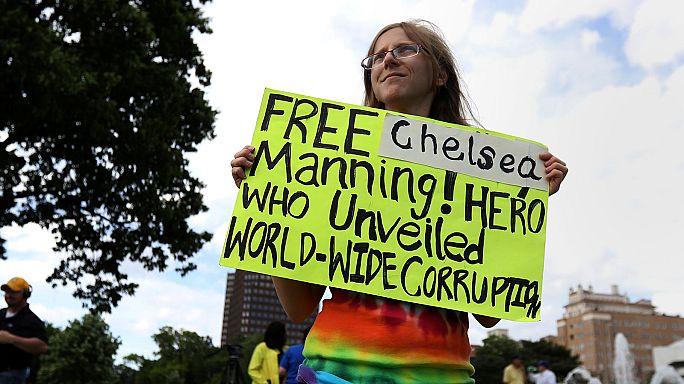 Chelsea Manning újra szabad