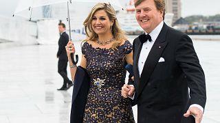 الملك الهولندي يعترف بعمله كطيار مساعد