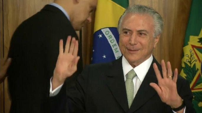 Brasil: Temer apanhado em gravação a aprovar subornos