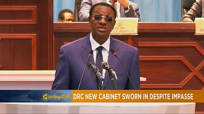 DRC: New cabinet sworn in despite political impasse [The Morning Call]