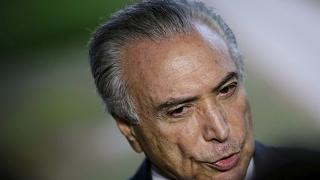 Brazil's Temer denies approving hush money in corruption case
