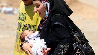 معركة الموصل: 200 ألف نازح جديد مع اشتداد المعارك