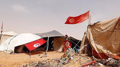 Tunisie : sit-in près d'un champ pétrolier pour revendiquer une meilleure répartition des richesses