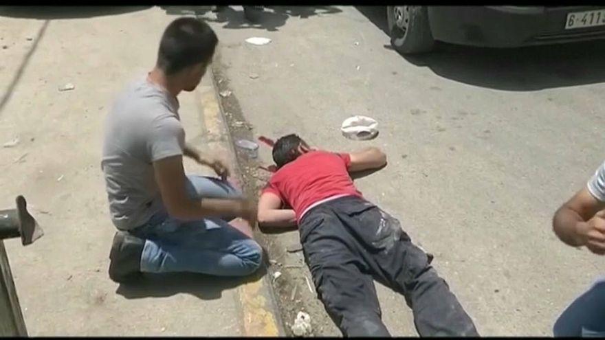 شاهد...كيف قتل شاب فلسطيني برصاص مستوطن إسرائيلي