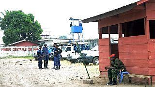 DR Congo police comb Kinshasa for over 50 prison escapees