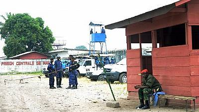 DR Congo police comb Kinshasa for over 50 prison escapees