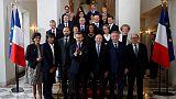 Emmanuel Macron preside ao primeiro Conselho de Ministros