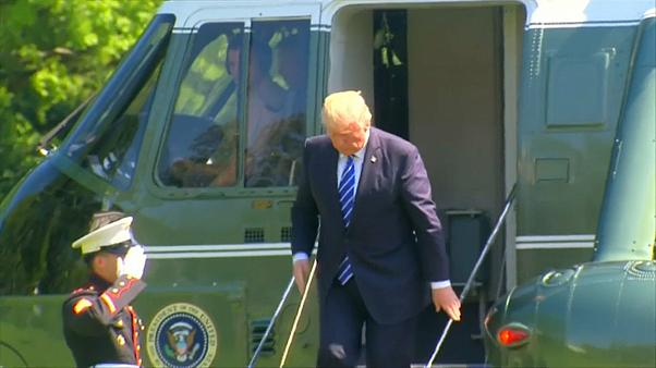 Trump asegura que es víctima de una caza de brujas