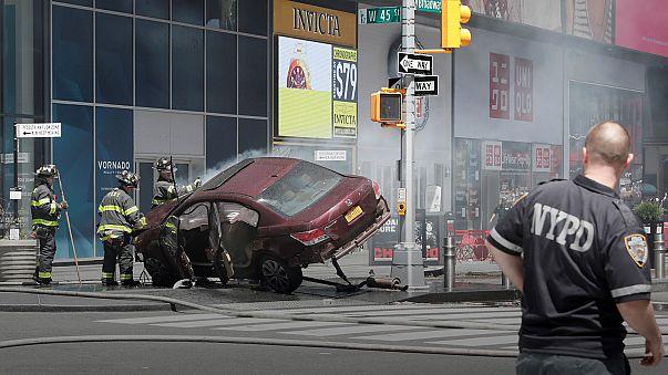 Halálos gázolás a járdán New York szívében