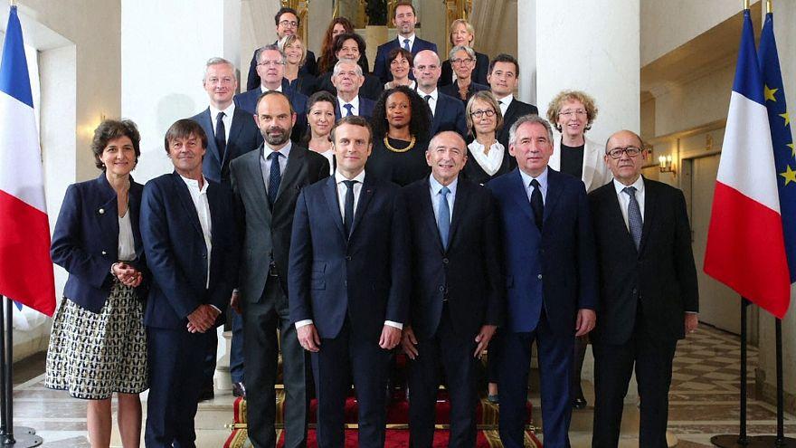 Макрон провел первое заседание нового правительства