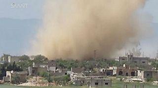 حمله جنگندۀ ائتلاف آمریکایی به نیروهای وفادار به اسد