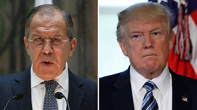 Russian foreign minister denies Trump handed over classified information