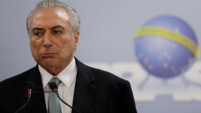 Brezilya Devlet Başkanı Temer'e soruşturma için yeşil ışık