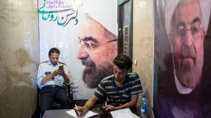 الايرانيون الى صناديق الاقتراع لانتخاب رئيسهم الجديد