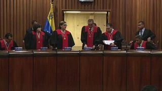 US slaps sanctions on Venezuela Supreme Court members