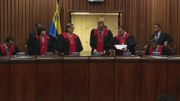 ABD'den Venezuela Anayasa Mahkemesi üyelerine yaptırım