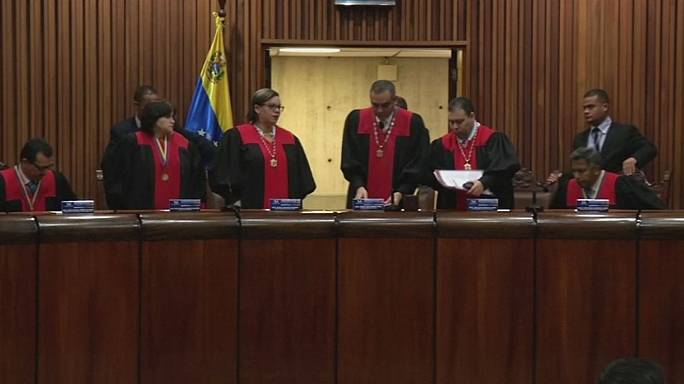 US slaps sanctions on Venezuela Supreme Court members