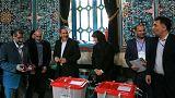 Megkezdődött az elnökválasztás Iránban