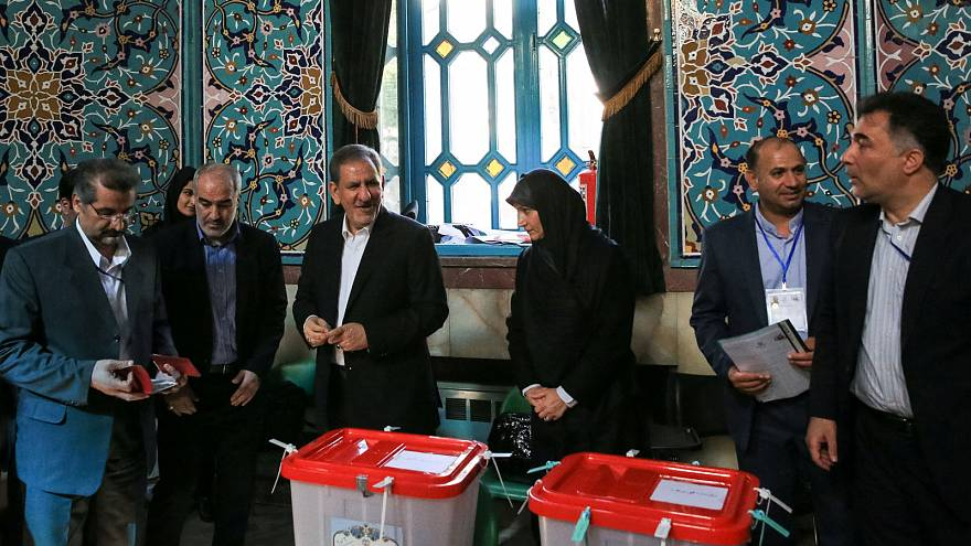 Iranians vote in hard-fought presidential election