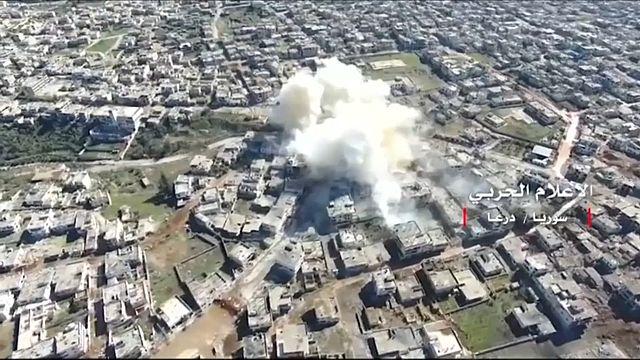 Russland kritisiert US-Luftangriff in Syrien