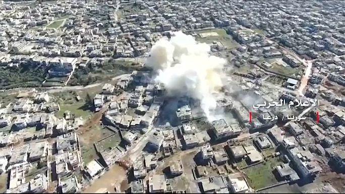 Moscú condena el bombardeo contra las fuerzas sirias