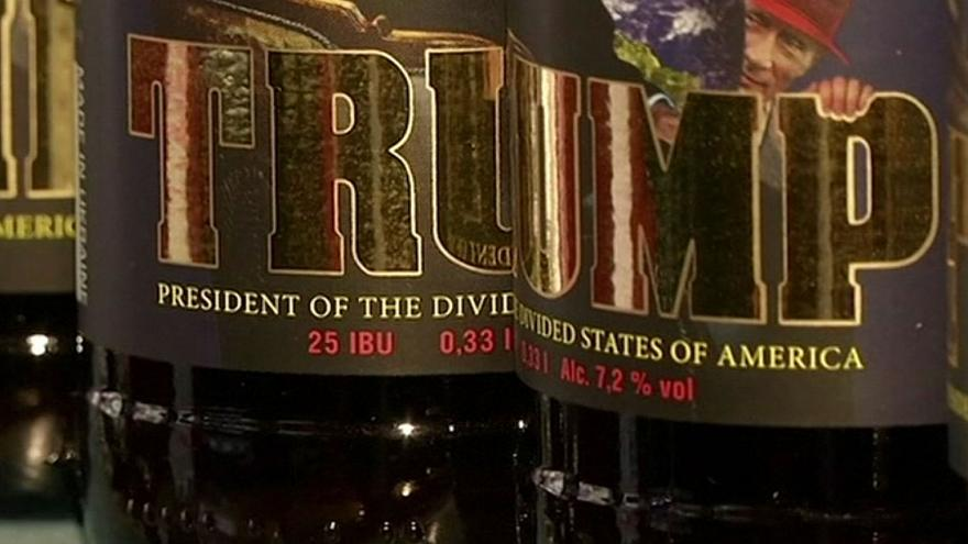 'Trump' beer on sale in Ukraine