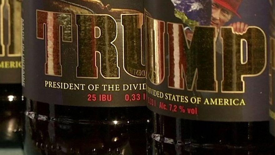 La cerveza Trump gana adeptos en Ucrania