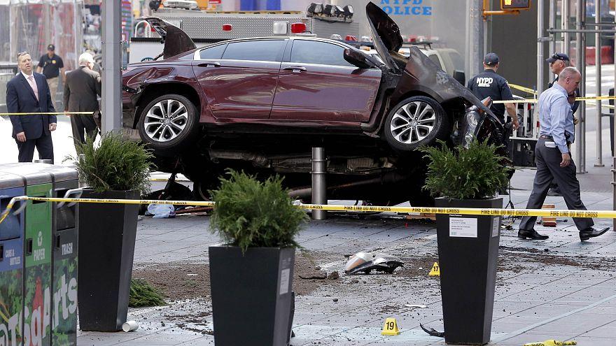 Sangriento atropello múltiple en Times Square