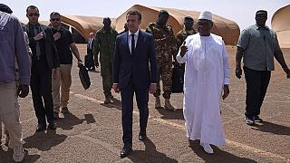 Macron says France uncompromising in fight against jihadists in Mali
