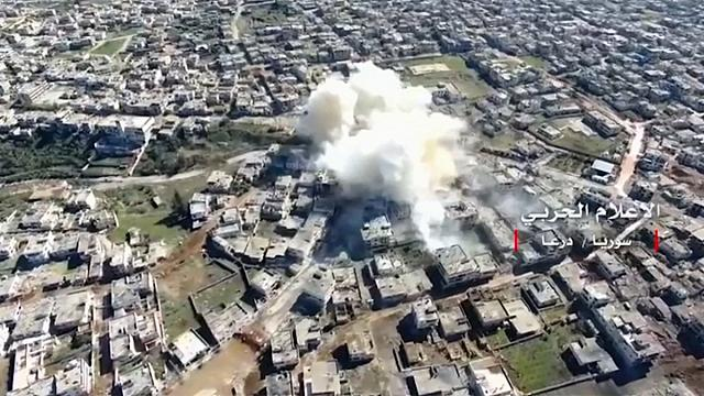 Syria and Russia condemn US strikes in Tanf