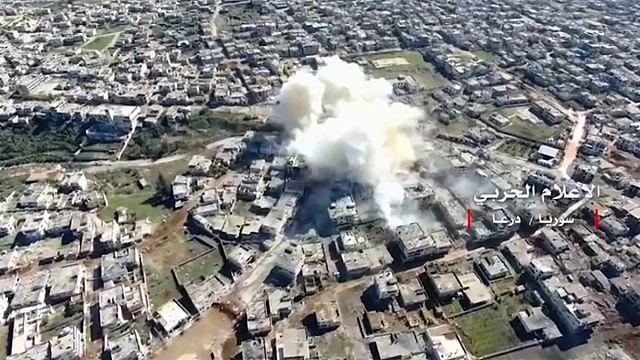 Россия резко раскритиковала авиаудар коалиции по правительственным силам Сирии