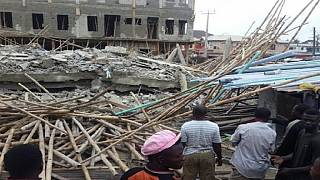 Lagos building collapse claims at least 3 lives, several injured