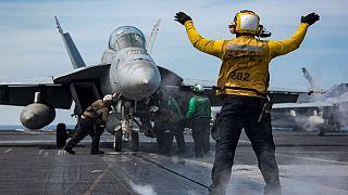 جتهای سوخو چین جنگنده آمریکایی را رهگیری کردند