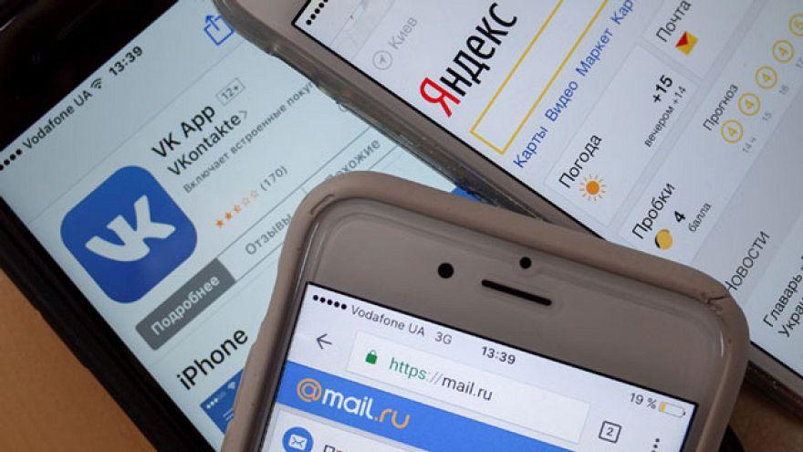 Украинский запрет на российские соцсети: против кого направлены санкции?