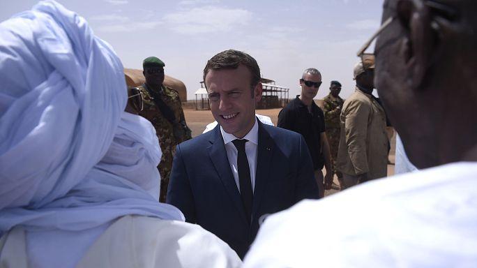 ادامه حضور نظامی فرانسه در مالی با شعار توسعه