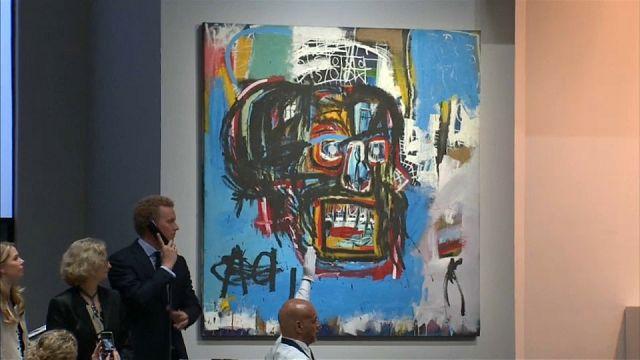 Une toile de Basquiat vendue 99 millions d'euros, un coup de maître