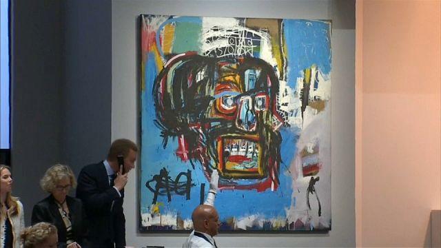 """بيع لوحة للرسام الأميركي الراحل """"باسكيا"""" بـ 110 مليون دولار"""