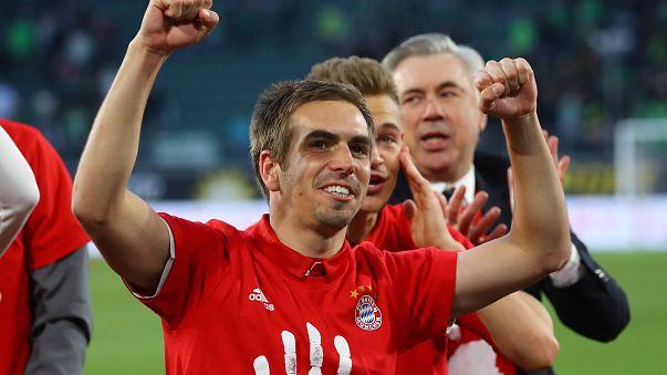 FC Bayern ehrt Philipp Lahm
