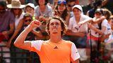 Zverev und Thiem im Halbfinale von Rom