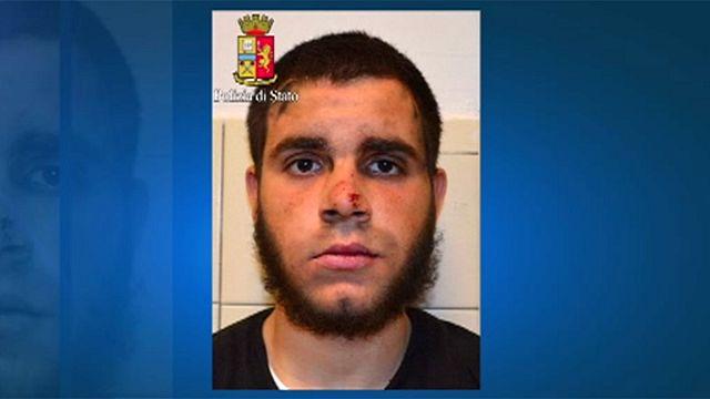Italy investigates Milan station attacker for alleged terrorism