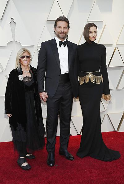 Bradley Cooper was joined at the Academy Awards by his mother, Gloria Campano, and partner, Irina Shayk.