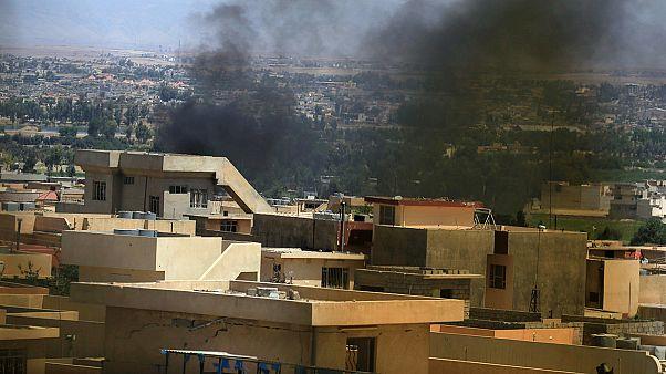 Drámai felvétel a moszuli harcokról